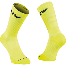 Northwave Extreme Pro Socks, yellow fluo/black